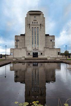 Radio Kootwijk, historisches Gebäude der ersten Radioverbindung mit Indie von Compuinfoto .