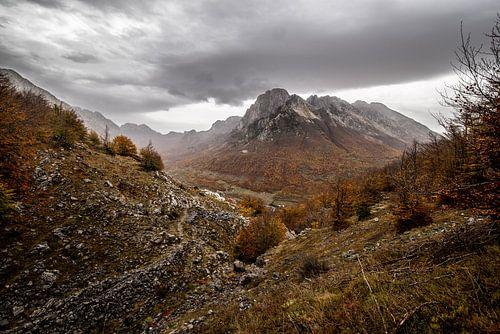Wandelen in de bergen van Albanie