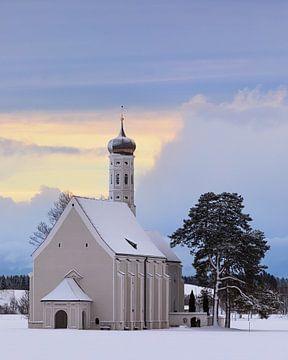 St. Coloman kerk, Beieren, Duitsland van Henk Meijer Photography