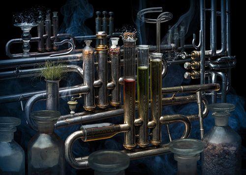 Trombone alchimique van Olaf Bruhn