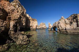 Portugese kust Algarve van