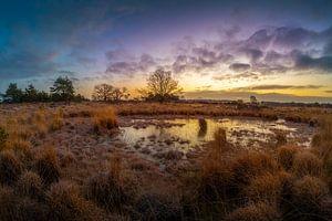 zonsopkomst in Brabant van Rob Bout