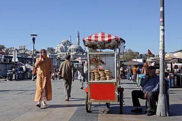 straatbeeld Istanbul von Antwan Janssen