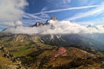 Passo Rolle en Pale di San Martino - Trentino-Alto Adige - Italië van Felina Photography