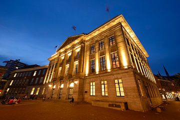 Stadhuis in Utrecht aan Stadhuisbrug van Donker Utrecht