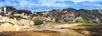 Landmannalaugar eine schöne Gegend in Island von Yvette Baur