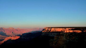 'Zonsondergang', Grand Canyon- Arizona van Martine Joanne