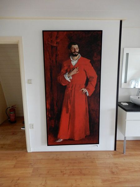 Klantfoto: Dr Samuel-Jean Pozzi, John Singer Sargent van Meesterlijcke Meesters