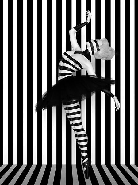 Dans van de lijnen van Arjen Roos