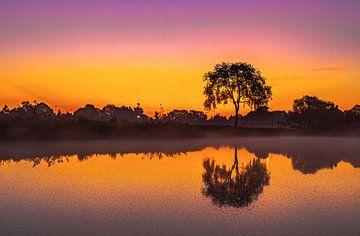 Sonnenaufgang von Freddie de Roeck