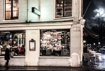 Amsterdam's sociale avond leven  van Francisca Snel