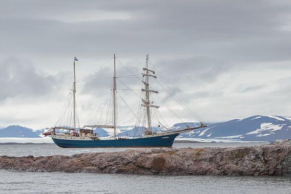 Tall Ship Barquentine Antigua