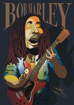 Bob Marley von NoëlArts