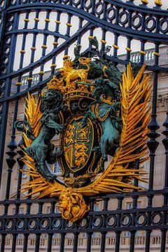 Buckingham palace hekwerk van Lorenzo Holtkamp
