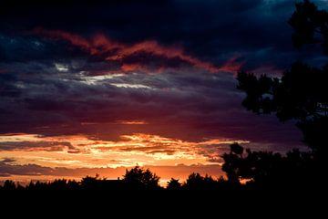 Zonsondergang in Skagen van Guy de Nooij