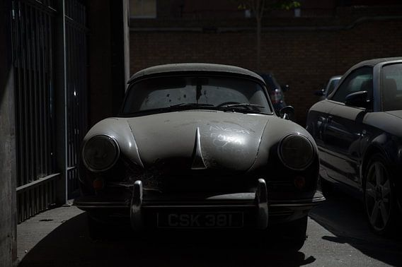 verlorene Liebe    (verlassener Porsche 356)