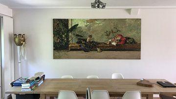Kundenfoto: Die Kinder des Malers im Japanischen Salon, Mariano Fortuny