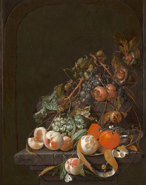 Fruitstilleven - C. de Heem van Marieke de Koning