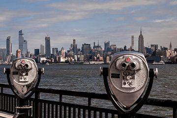 Panoramisch uitzicht op New York van Kurt Krause