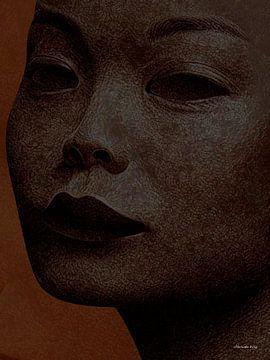 Achterom Kijkend - Close up van Ton van Hummel (Alias HUVANTO)