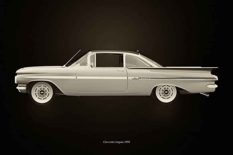 Chevrolet Impala uit de jaren 50 van Jan Keteleer