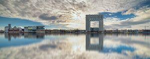 Amsterdam Skyline van Robert Stienstra