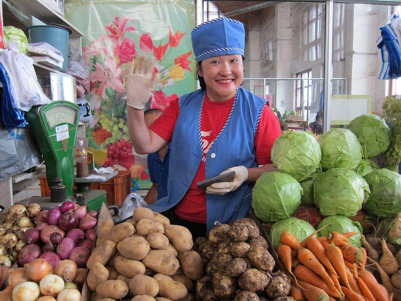 Groenteboer van Anne-Marie Vermaat