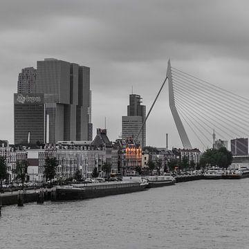Rotterdam Erasmusbrug (67154) von John Ouwens