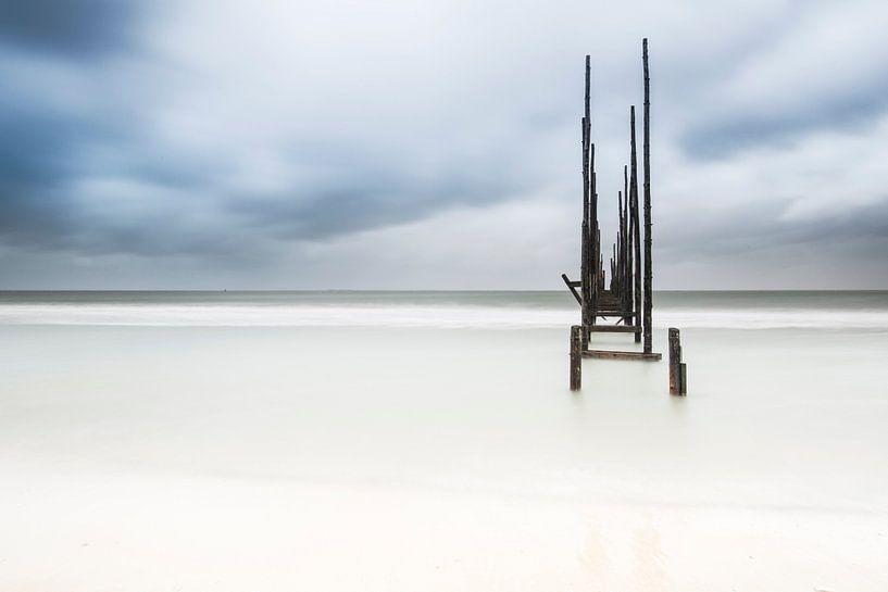 Houten steiger van AGAMI Photo Agency