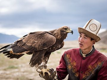Die Adlerjäger von Kirgistan von Marien Bergsma