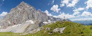 Bergpanorama Dachstein-Südwand von Coen Weesjes