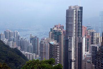 Hong Kong - Uitzicht vanaf Victoria Peak van t.ART