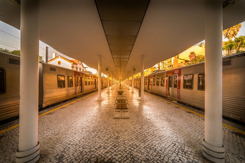 Golden Station van Niels Eric Fotografie