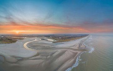De Slufter Texel met prachtige zonsopkomst