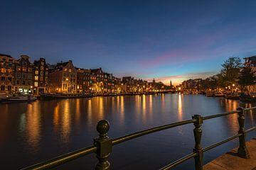 Amsterdam bei Nacht von Gea Gaetani d'Aragona
