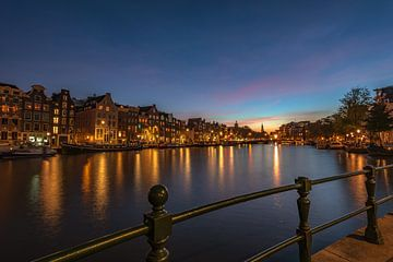 Amsterdam la nuit. sur Gea Gaetani d'Aragona