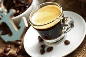espresso in een maritieme ambiance
