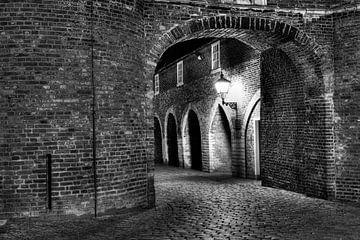Middeleeuwse Oosterpoort tunnel van Dexter Reijsmeijer
