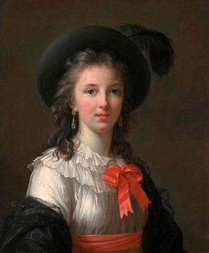 Selbstbildnis, Élisabeth Vigée-Le Brun