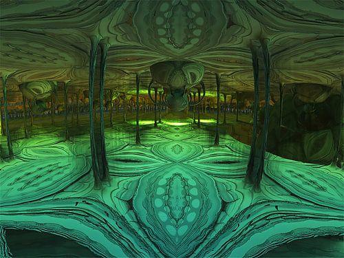 Le palais vert sur