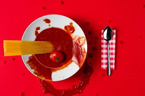 Tomaten en pasta!