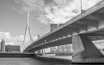 Rotterdam - Erasmusbrug van Annette Prinssen