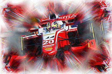 Mick Schumacher - Champion F2 2020 von Jean-Louis Glineur alias DeVerviers