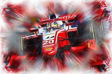 Mick Schumacher - Champion F2 2020 van Jean-Louis Glineur alias DeVerviers