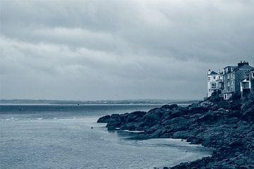 Saint Ives Verenigd Koninkrijk aan het strand von Alice Berkien-van Mil