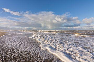 De Zee bij Kijkduin in Den Haag
