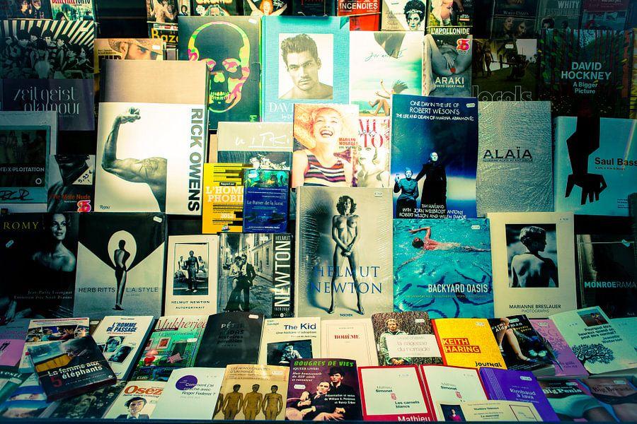 Bookstore in Paris van Joran Maaswinkel