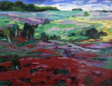 Landschaft auf Sylt anagoria - Wenzel Hablik, 1910 von Atelier Liesjes