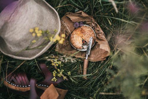 Zomerse picknick in een weiland | Food fotografie foto print | Tumbleweed & Fireflies Photograph