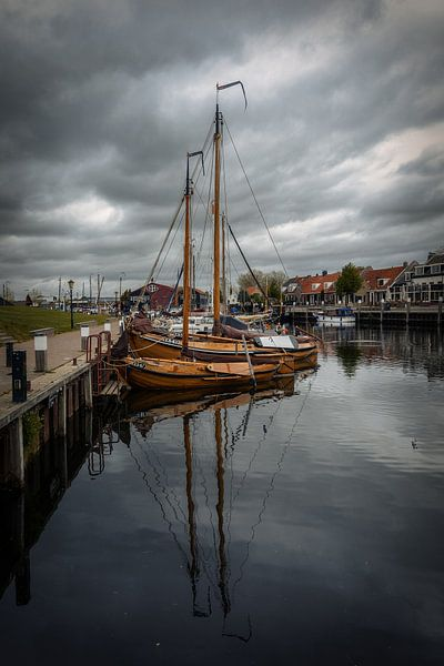 Oude Nederlandse visserboten van Mart Houtman
